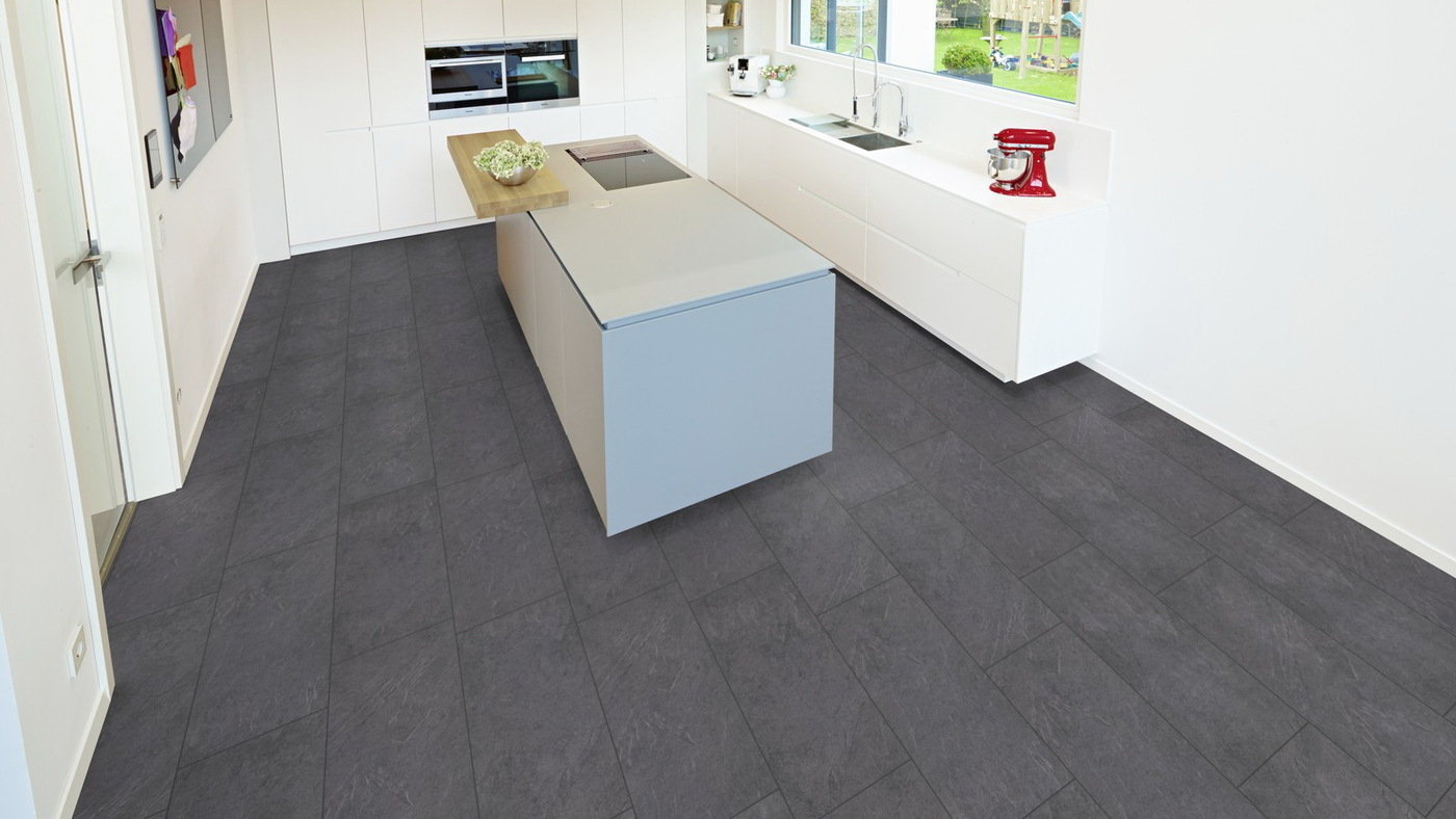 Parchet laminat Stone antracite grey G12