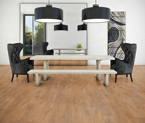 Parchet laminat Oak October brown F17
