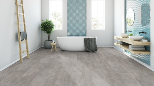 Parchet laminat Cement look light grey G11