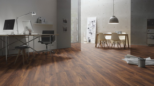 Parchet laminat Chestnut velvet brown H05
