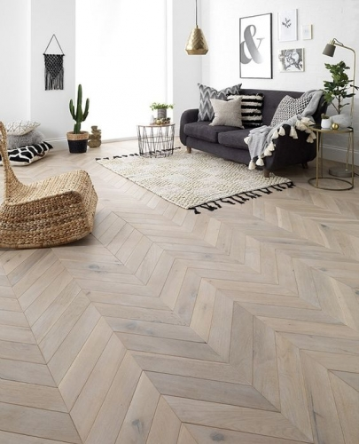 Parchet stratificat stejar Chevron Air - 90x15 mm - Natura