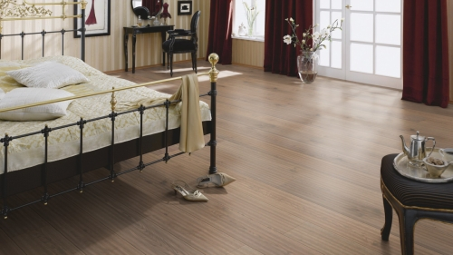 Parchet stratificat stejar Alpine Brown - 200x13 mm - Rustik